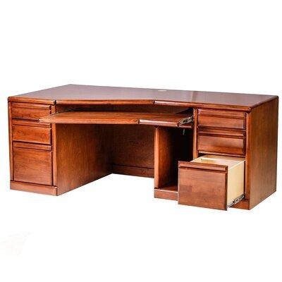 Bullnose Angled Computer Desk