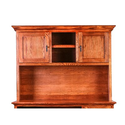 Mission 42 H x 60 W Desk Hutch Finish: Honey Oak