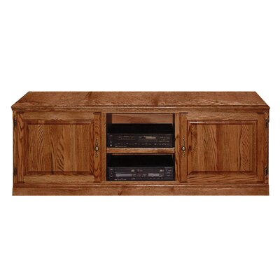 Traditional 67 TV Stand Color: Chestnut Oak