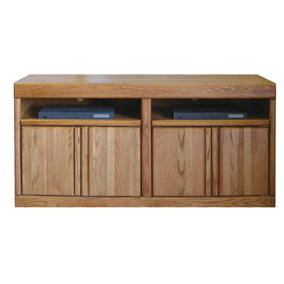 Bullnose 60 TV Stand Color: Golden Oak