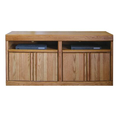 Bullnose 66 TV Stand Color: Golden Oak