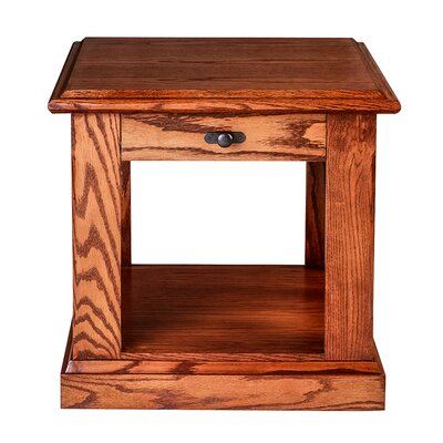 Mission 20 End Table Color: Honey Oak
