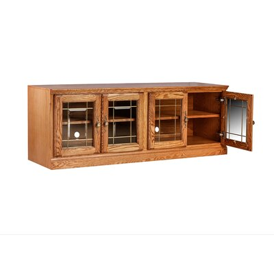 Traditional 66 TV Stand Color: Golden Oak
