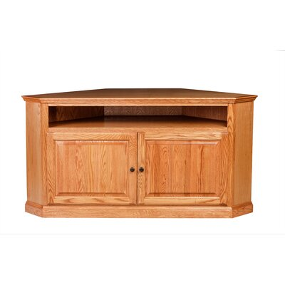 63 TV Stand Color: Red Oak