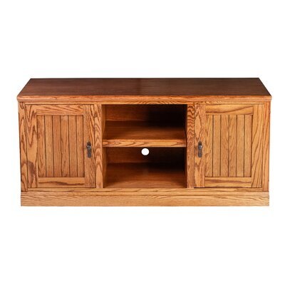 Cottage 53 TV Stand Color: Red Oak