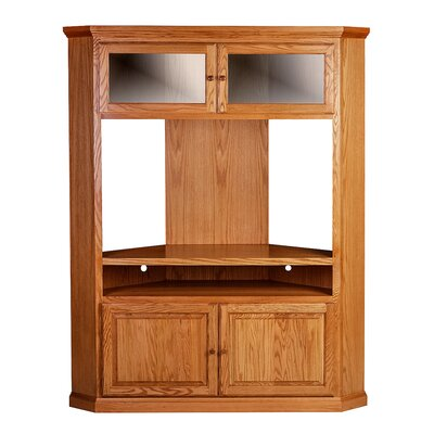 Entertainment Center Finish: Red Oak