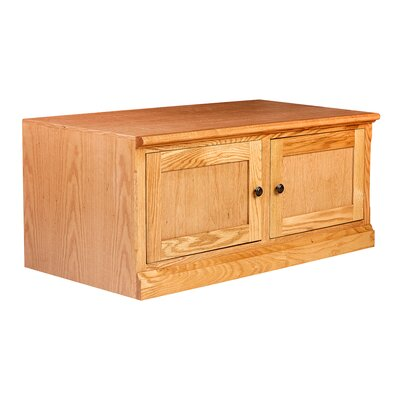 Mission 43 Knob TV Stand Color: Spice Alder