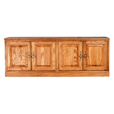 Traditional 60 TV Stand Color: Golden Oak