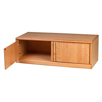 Bullnose 43 TV Stand Color: Chestnut Oak