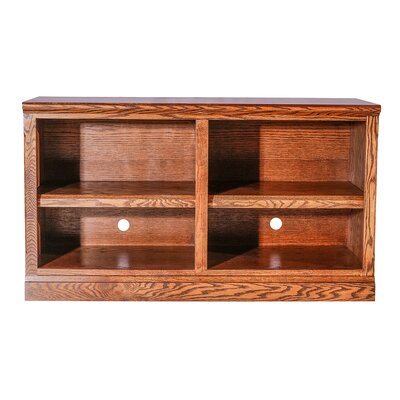 Mission 60 TV Stand Color: Black Alder