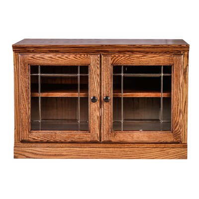 Traditional 54 TV Stand Color: Red Oak