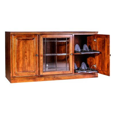 Traditional 67 TV Stand Color: Black Alder