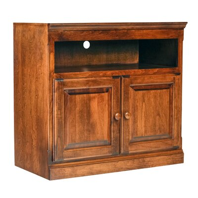Traditional 48 TV Stand Color: Antique Alder