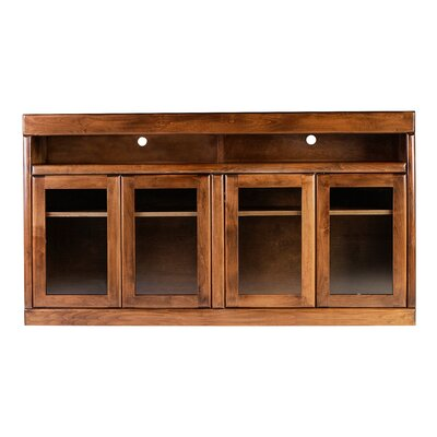 Bullnose 60 TV Stand Color: Red Oak