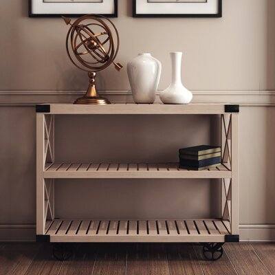 Wheel Console Table