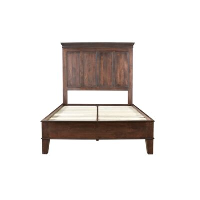 Pharsalia Platform Bed Size: Queen, Color: Glaze Brown