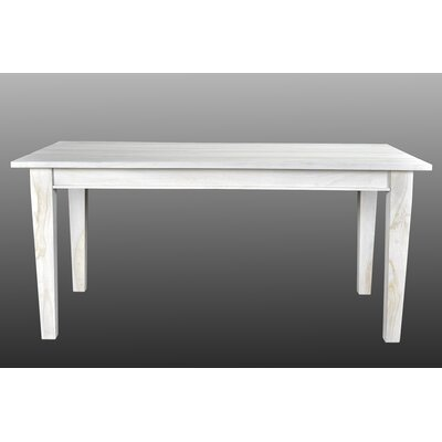 Koch Dining Table Finish: White Wash, Size: 66 L x 36 W x 30 H