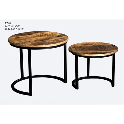 Ouseman 2 Piece Nesting Tables
