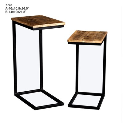 Yong 2 Piece Nesting Tables
