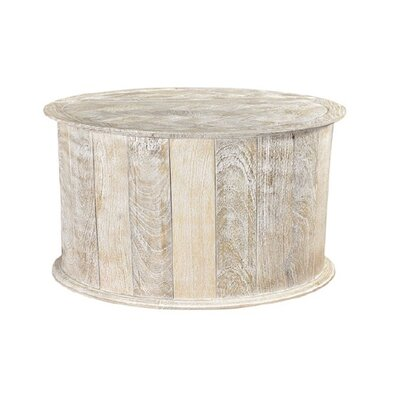 Caledonia Coffee Table Color: Sandblast White