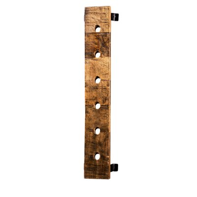 Madilyn 6 Bottle Wall Mounted Wine Bottle Rack