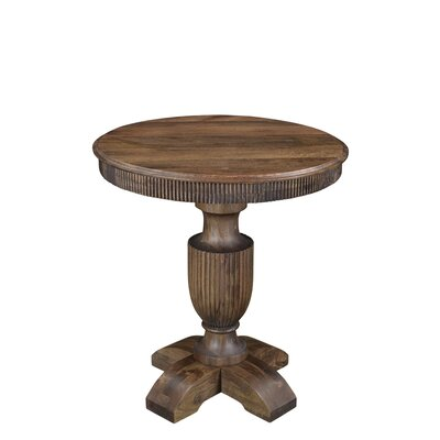 Coursey End Table Color: Brown