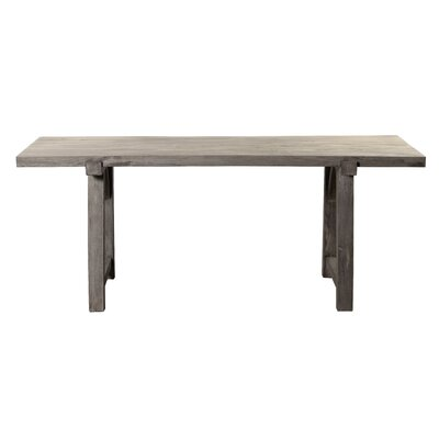 Pottorff Dining Table Color: Brushed Gray