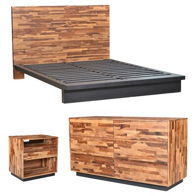 Sabrina Platform Configurable Bedroom Set