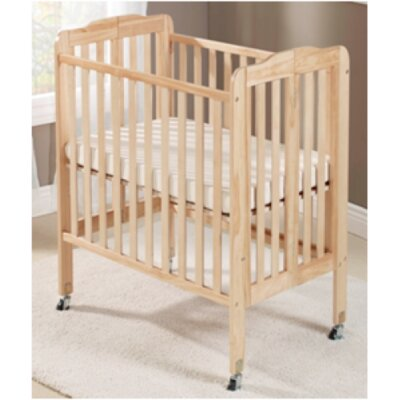 Big Oshi Angela 2 Position Portable Crib Finish: Natural CRB-406