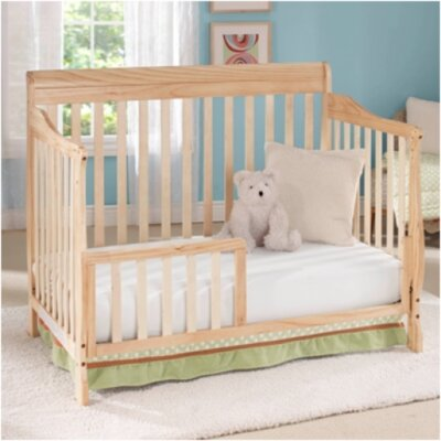 Big Oshi Stephanie 4 in 1 Convertible Crib Finish: Natural CRB-414
