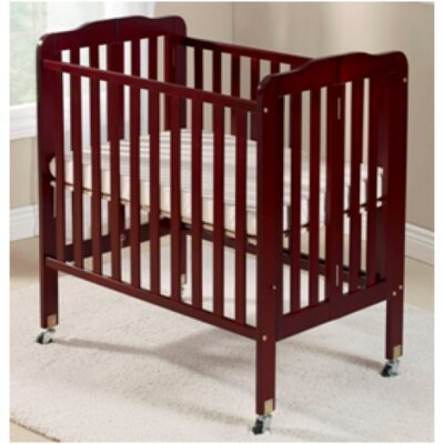 Big Oshi Angela 2 Position Portable Crib Finish: Cherry CRB-407