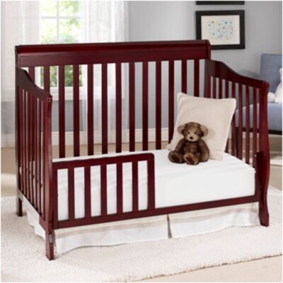 Big Oshi Stephanie 4 in 1 Convertible Crib Finish: Cherry CRB-415