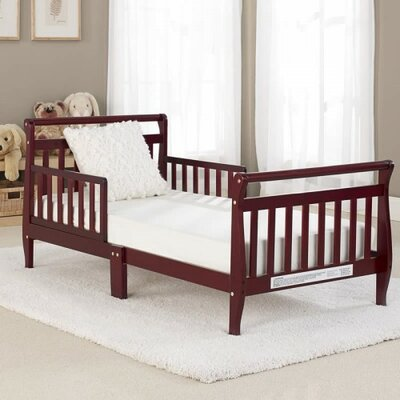 Big Oshi Convertible Toddler Bed Finish: Cherry