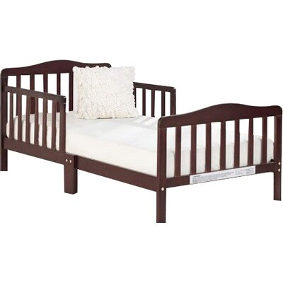 Big Oshi Toddler Bed Color: Espresso