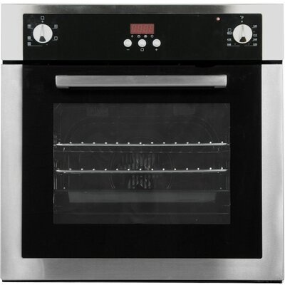 Kitchen-Cosmo 21.4 Electric Single Wall Oven in Stainless Steel