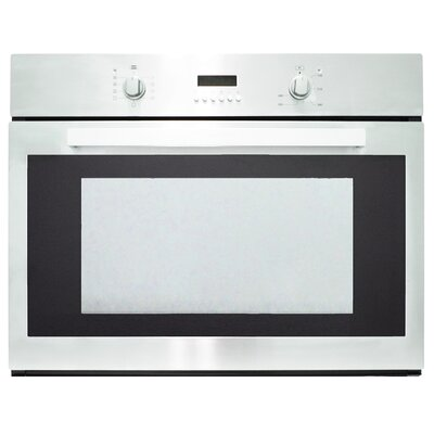 Kitchen-29.5 Electric Single Wall Oven in Stainless Steel