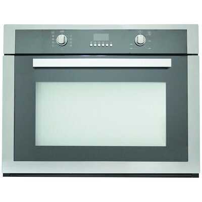 Kitchen-Cosmo 29.5 Electric Single Wall Oven in Black