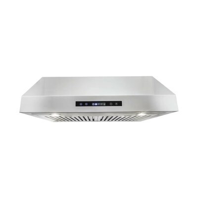 "30"" 760 CFM Convertible Under Cabinet Range Hood in Stainless Steel UTS30"