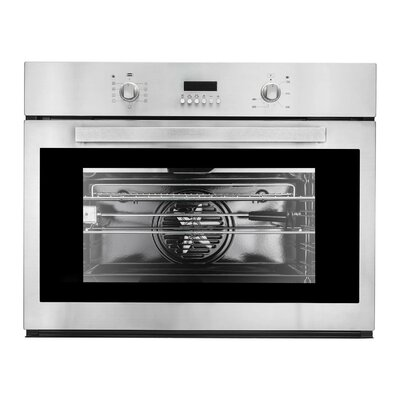 "COV-309D 30"""" Electric Single Wall Oven with 2.8 cu. ft. Capacity  Convection Fan  9 Cooking Functions  Rotating Roasting Rod and Digital Display in Stainless"" 516902"