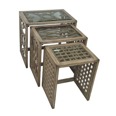 Chester 3 Piece Nesting Tables