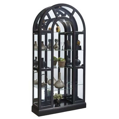 Mcclain Lighted Curio Cabinet