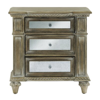 Porath 3 Drawer Bachelors Chest