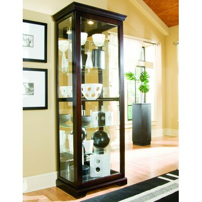 Ealing Lighted Curio Cabinet