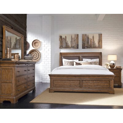 Gilcrest Sleigh Configurable Bedroom Set
