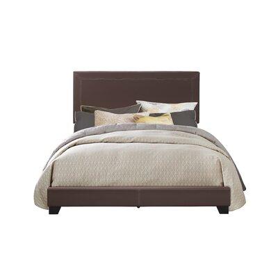 Alexandra Upholstered Sleigh Bed Size: King