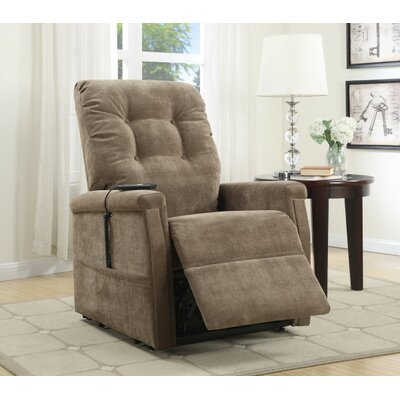 Medium Infinite Position Lift Chair Color: Coffee