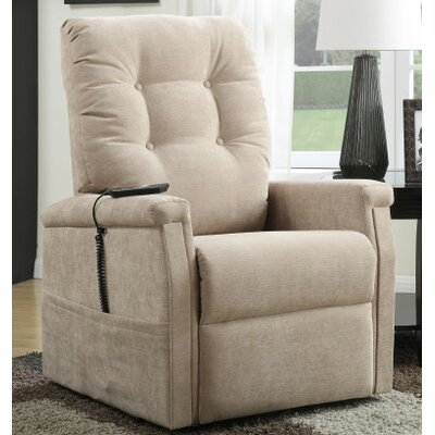 Power Lift Assist Recliner Color: Piedra
