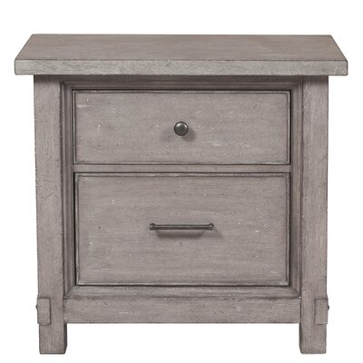 Tarentum 2 Drawer Nightstand