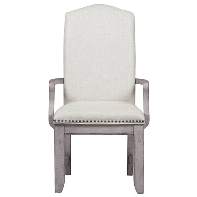 Loanne Upholstered Back Arm Chair