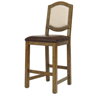 Gilcrest Wood Frame 50 Bar Stool